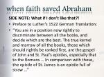 when faith saved abraham4
