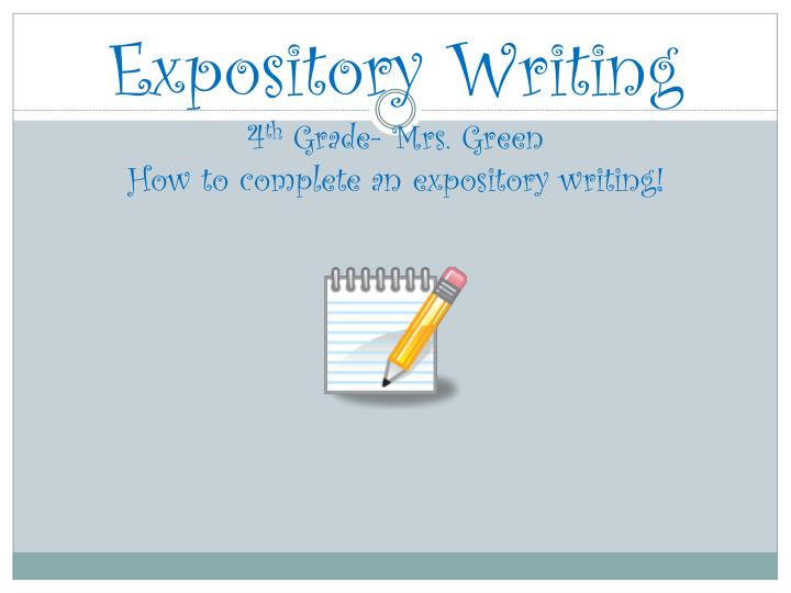 expository writing powerpoint 4th grade Narrative writing copy of 4th grade grammar pacing guide summary writing expository  resource copied from personalnarrativepowerpointpptx by uplift 4th grade.