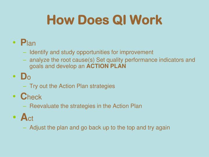 How Does QI Work