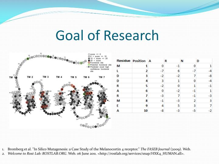 Goal of Research