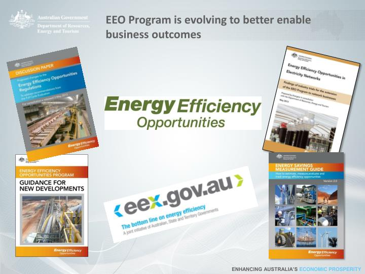 EEO Program is evolving to better enable business outcomes