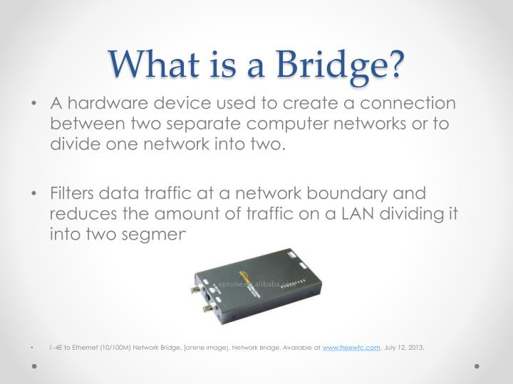 Bridge Computer Network Device - Quantum Computing