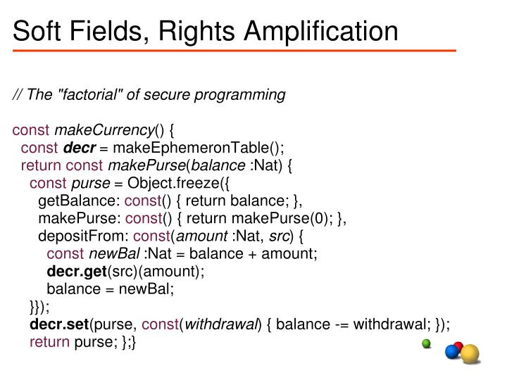 Soft fields rights amplification