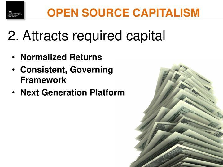 OPEN SOURCE CAPITALISM