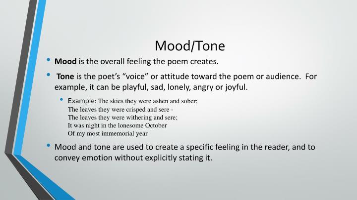 Mood tone