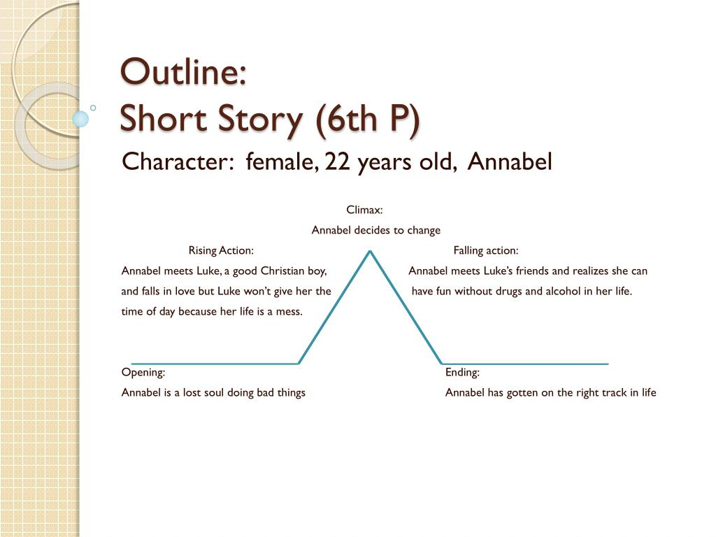 PPT - Outline: Short Story (6th P) PowerPoint Presentation - ID:2610969