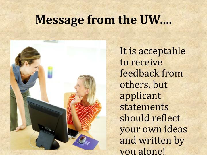 uw madison college application essay
