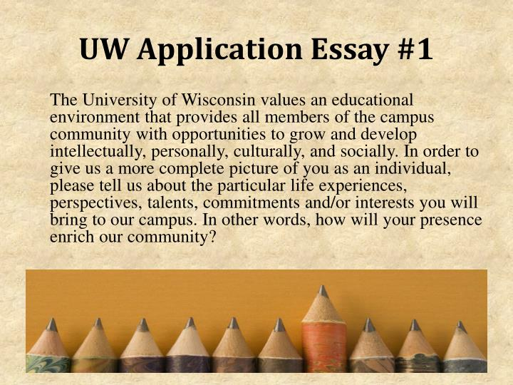 uw milwaukee admissions essay Office of admissions and recruitment - university of wisconsin-madison.