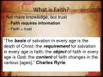 what is faith4