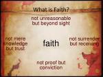 what is faith5