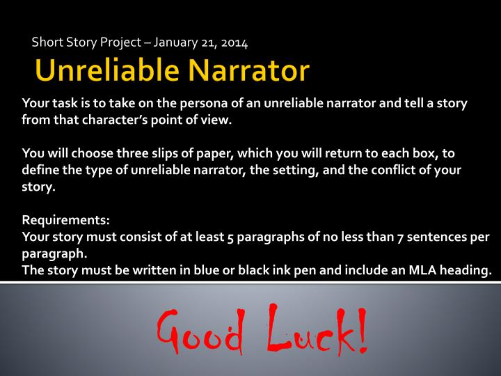 short story project january 21 2014 n.