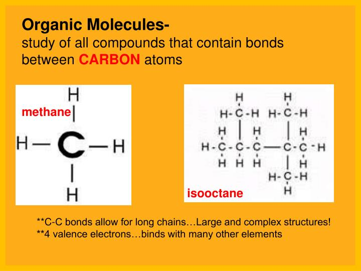 organic molecule testing Sch4u unit 1 test: organic chemistry name: _____ organic chemistry /78 knowledge and understanding (16 marks) 1 carbon atoms bonded to four other atoms form what shape.