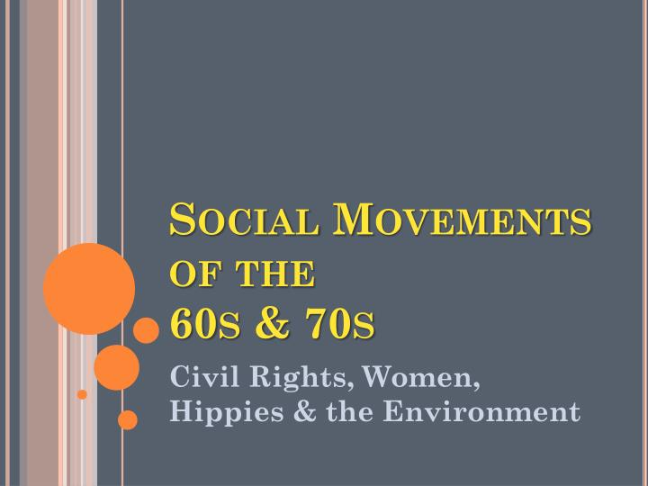 an analysis of active social movement in the 1960s Klan had been active in the 1960s been active in the 1960s in an individual-level analysis of political polarization as a social movement.