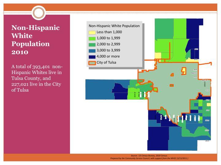 Non-Hispanic White Population