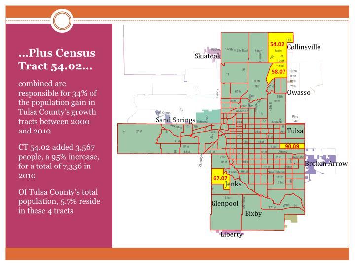 …Plus Census Tract 54.02…