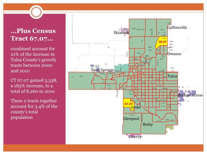 …Plus Census Tract 67.07…
