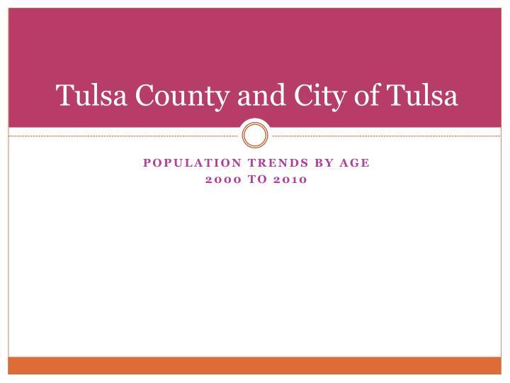 Tulsa County and City of Tulsa