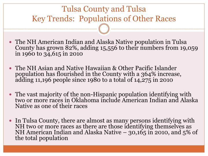 Tulsa County and Tulsa
