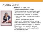 a global conflict3