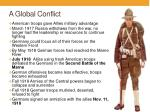 a global conflict4