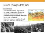 europe plunges into war2