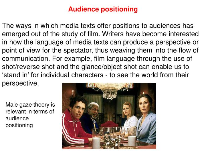 Audience positioning