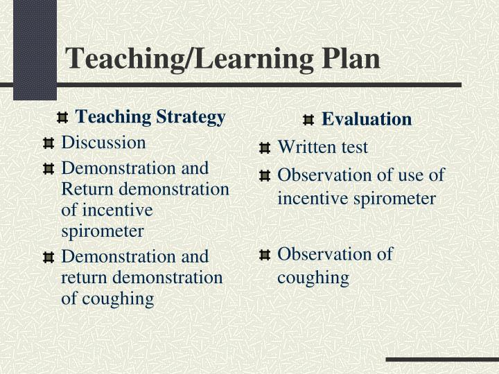 Teaching Strategy