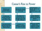 caesar s rise to power