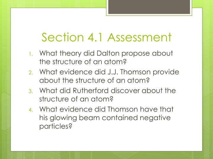Section 4.1 Assessment