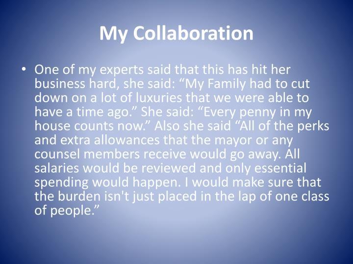 My Collaboration