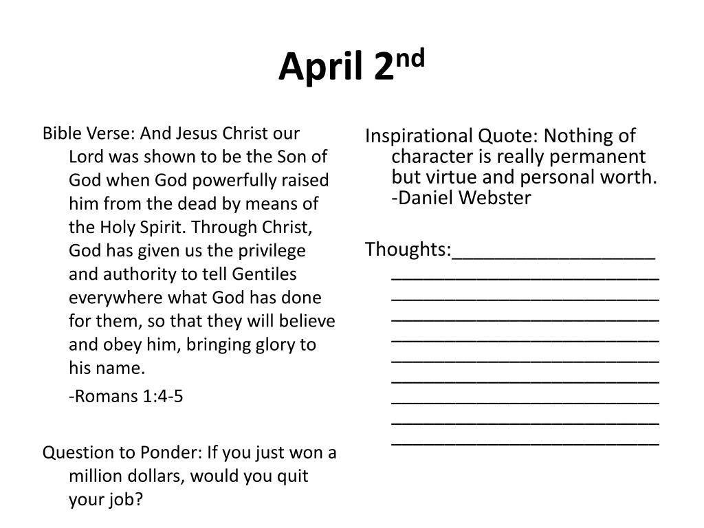 PPT - Lenten Daily Devotional PowerPoint Presentation - ID