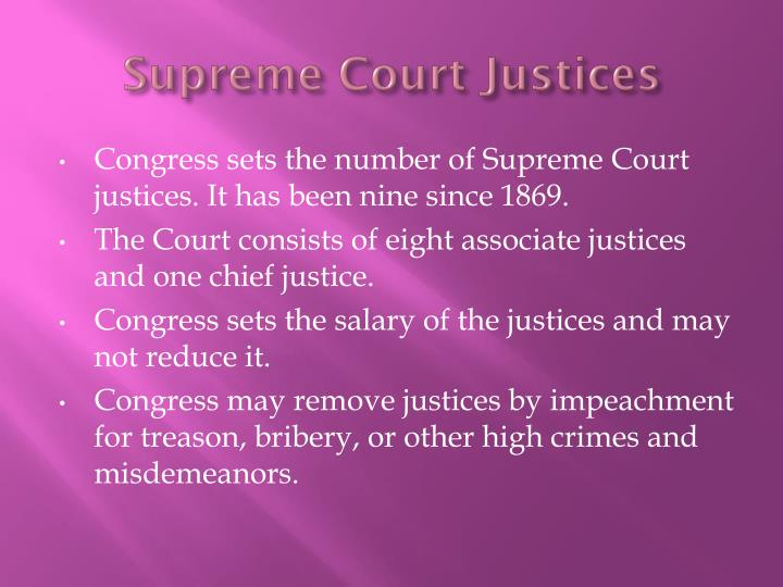 Supreme Court Justices