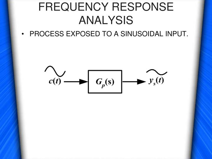 Frequency response analysis1