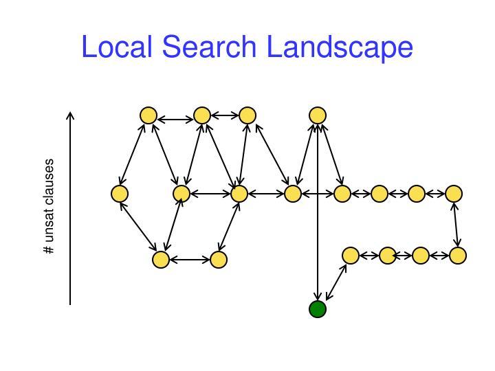 Local Search Landscape