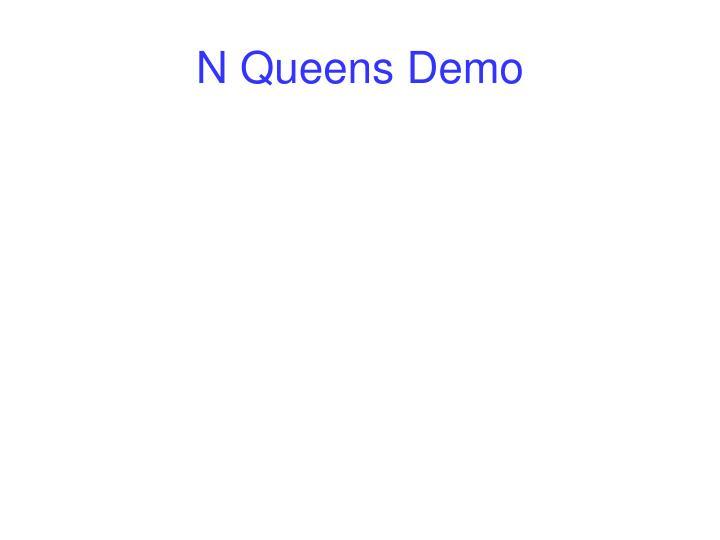 N Queens Demo
