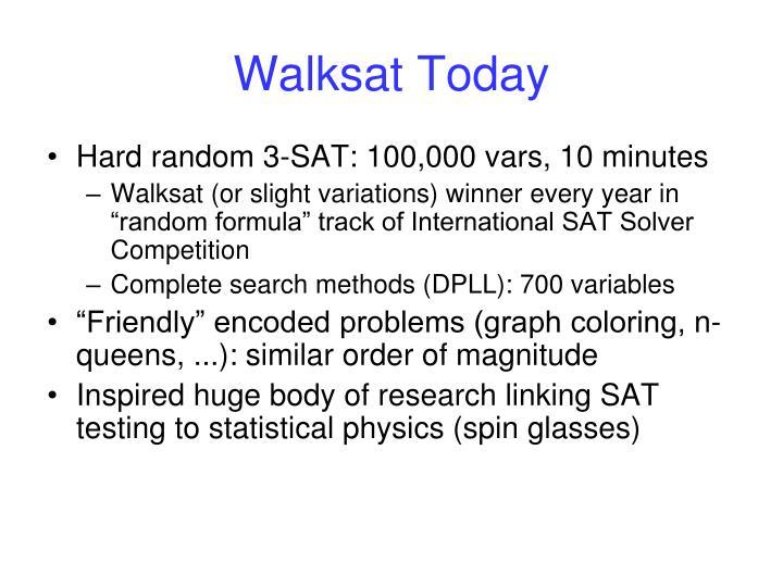 Walksat Today
