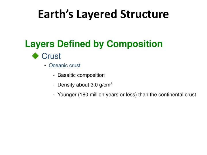 Layers Defined by Composition