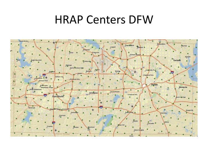 HRAP Centers DFW