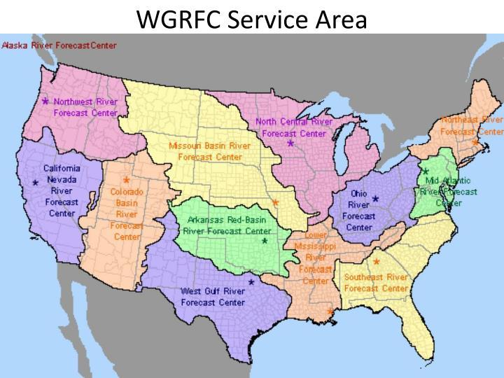 WGRFC Service Area