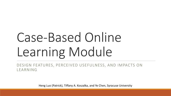 problem of online learning Teaching problem solving print version tips and techniques expert vs novice problem solvers tips and techniques communicate have students identify specific problems, difficulties, or confusions.