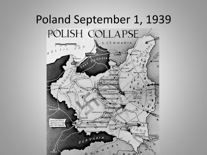 Poland September 1, 1939