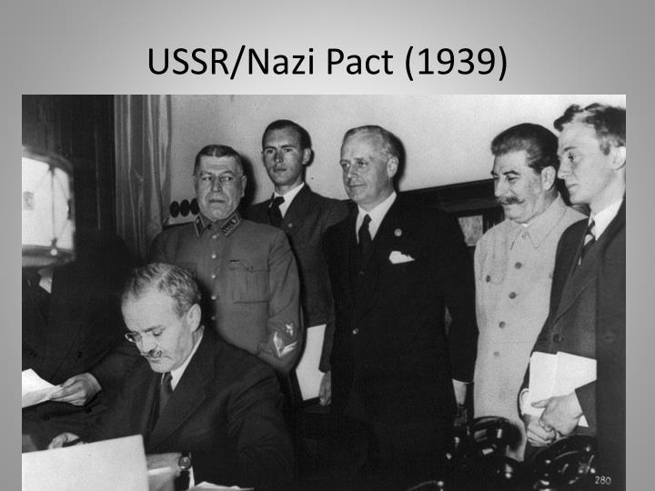 USSR/Nazi Pact (1939)