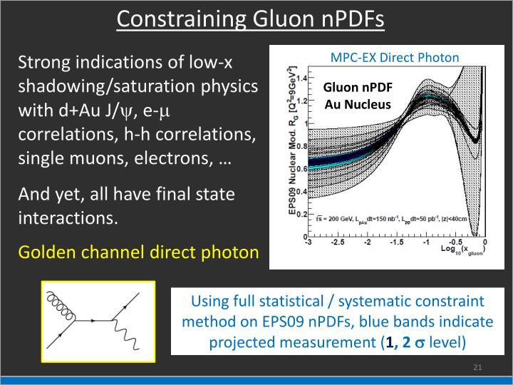 Constraining Gluon