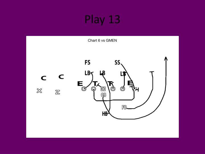 Play 13