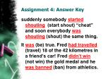 assignment 4 answer key5
