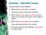 grammar narrative tenses1