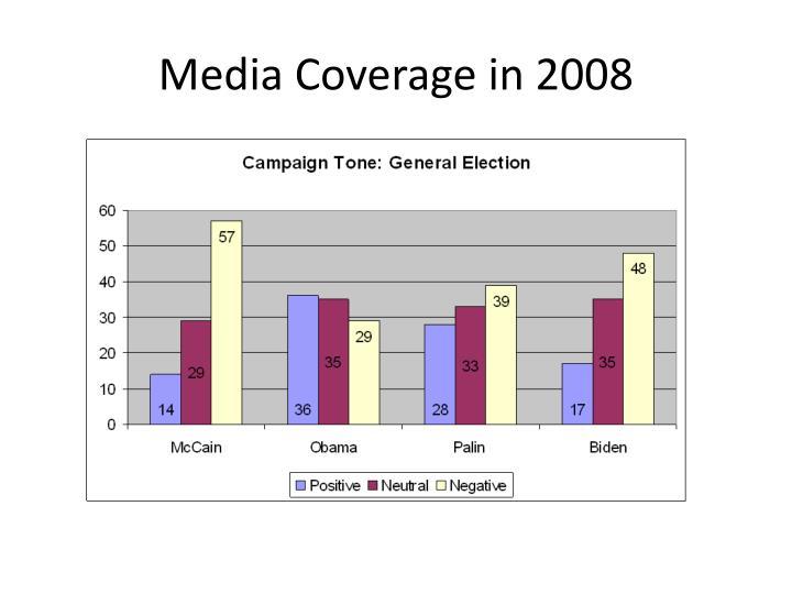 Media Coverage in 2008