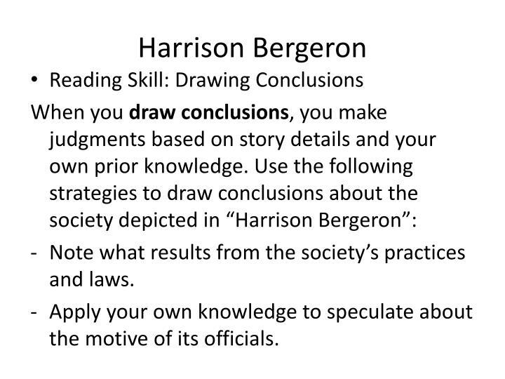 harrison bergeron conclusion