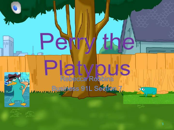 perry the platypus n.