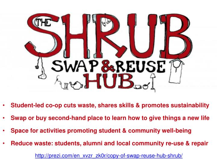 Student-led co-op cuts waste